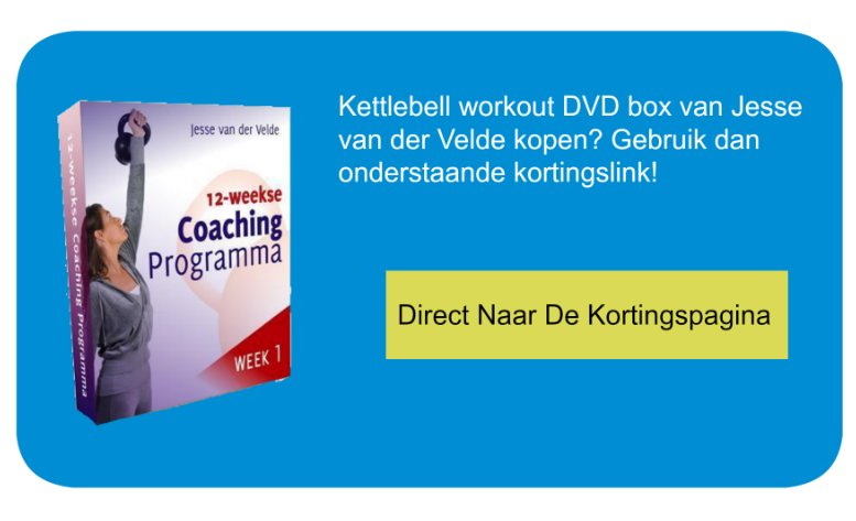 CTA Kettlebell workout dvd box