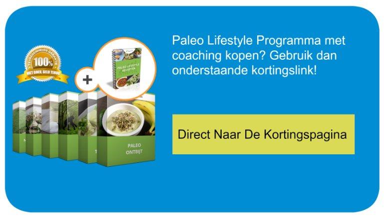 CTA Paleo lifestyle programma