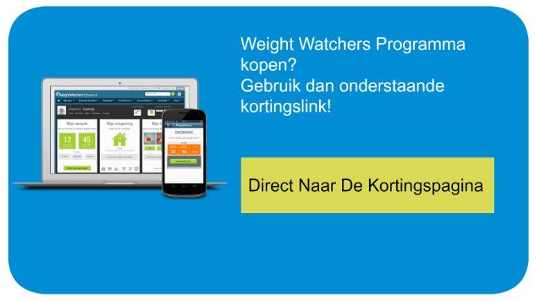 CTA Weight Watchers programma