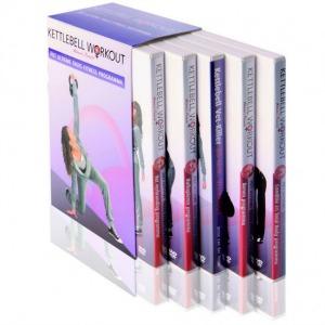 Kettlebell workout DVD box van Jesse van der Velde