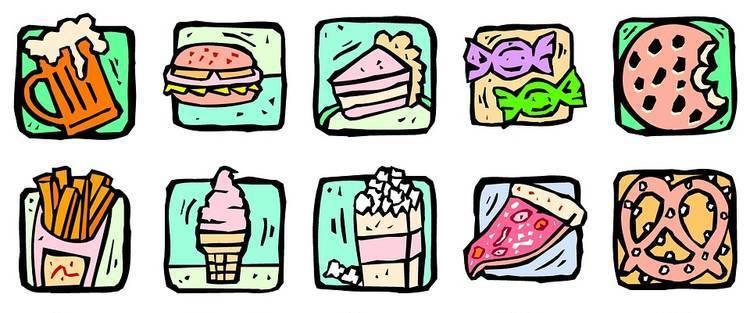 bewerkte voeding