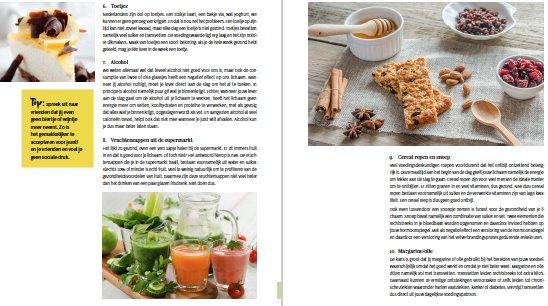 bladzijde recepten afslankplan