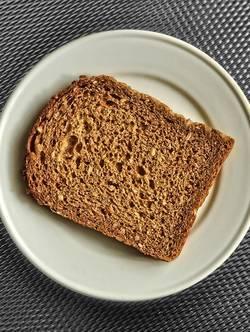 Brood op een bord
