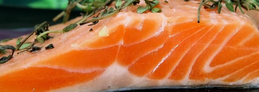 diner met vis