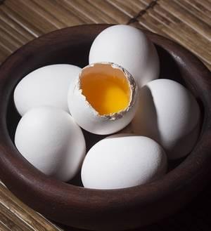 eieren schaal
