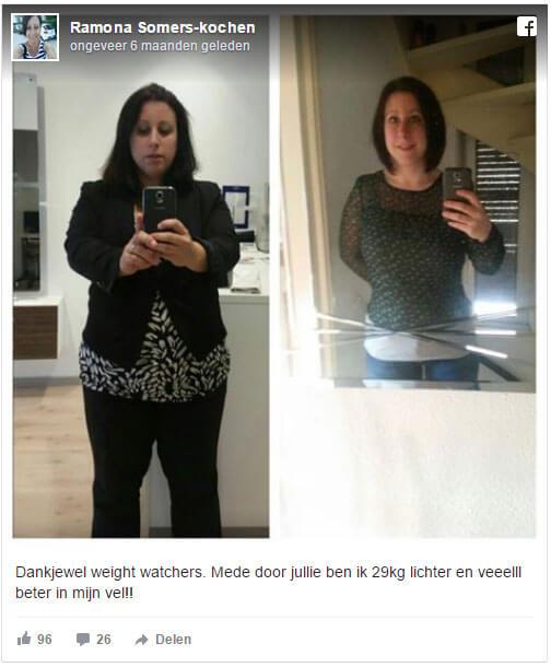 ervaring met weightwatchers