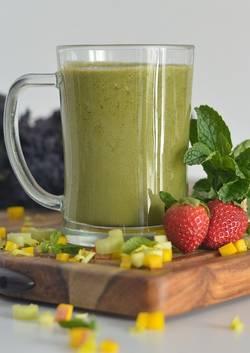 Een groente smoothie