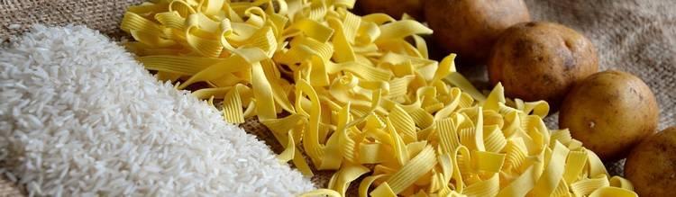 pasta en aardappels