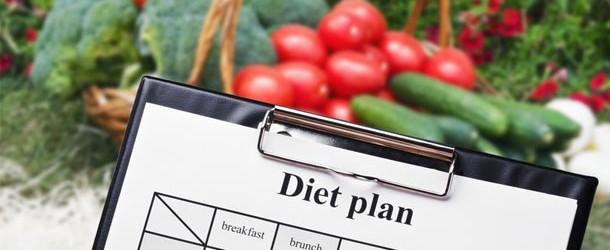 voedingsschema afvallen