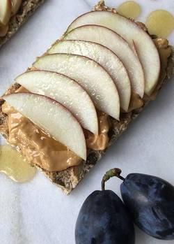 cracker met appel