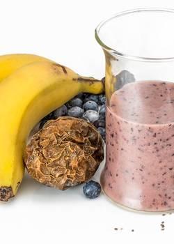Een smoothie met banaan