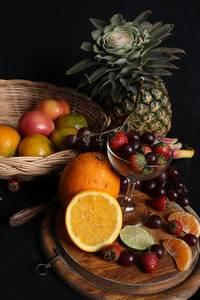 Verschillende soorten fruit op een tafel