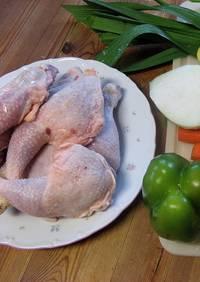 Een bord met kippenpoten voor koolhydraatarme kippensoep